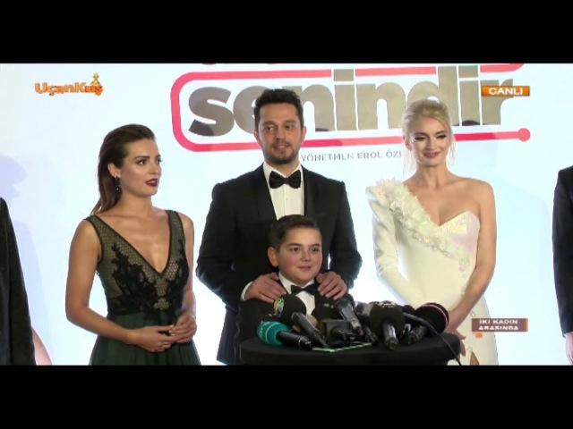 Dönerse Senindir Filminin Galasından Görüntüler Uçankuş Tv