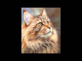 Дикие животные английского художника Devid Stribbling