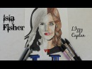 insaisissables  Isla Fisher VS  Lizzy Caplan speed drawing