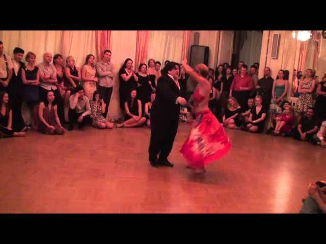Aonikén Quiroga y Alejandra Mantiñán. Chacarera. Grand Tango Weekend 2011. Санкт-Петербург, клуб «Кочубей». 2011-10-22