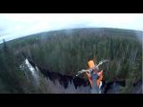 Unexpected Antti Pendikainen 40m Motocross Parachute Jump #coub, #коуб