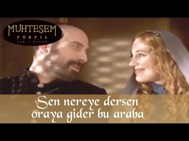 Гюррем і Сулейман їдуть на весілля Хатідже, 17 серія