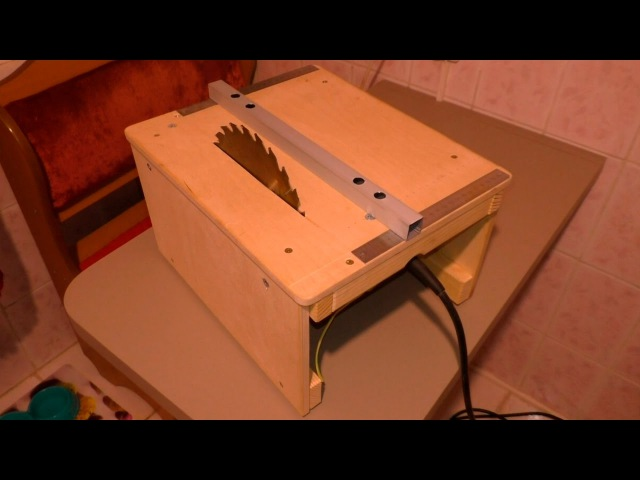 14) Распиловочный станок в чемодане своими руками \ Очень компактный станок своими руками