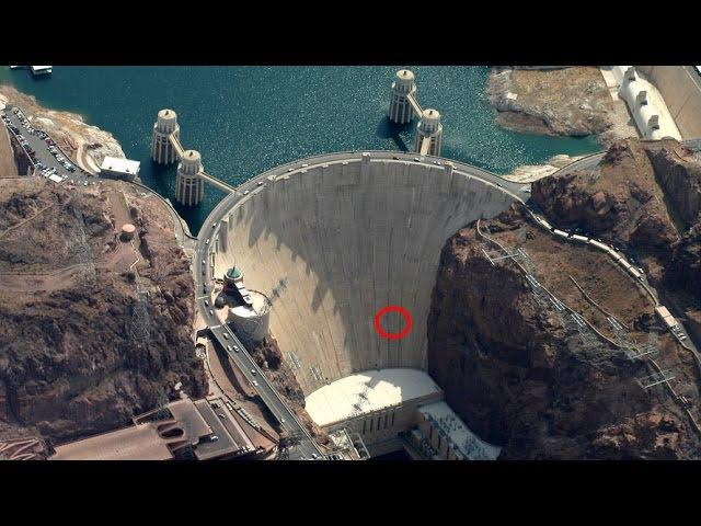 Аварийный сброс воды на плотинах