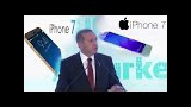 Recep Tayyip Erdoğan'dan iPhone eleştirisi!