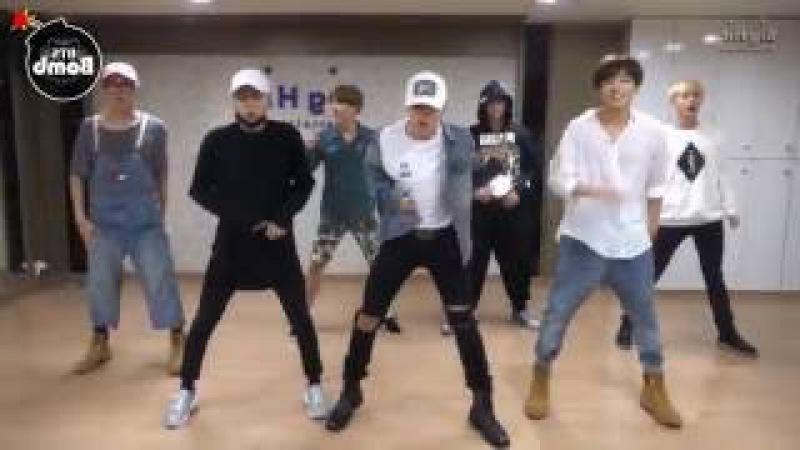 BTS 'Silver Spoon Baepsae ' mirrored Dance Practice