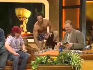 Guy get naked in live tv.mp4