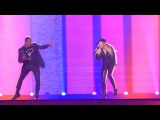 Second rehearsal Valentina Monetta, Jimmie Wilson Spirit Of The Night (San Marino) Eurovision 2017