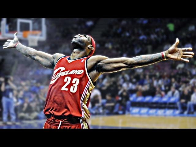 LeBron James' 23 Nastiest Dunks Of His Career