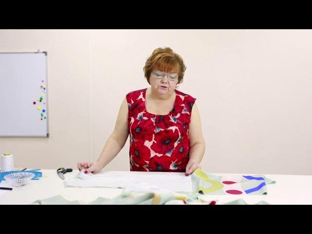 Пройма рукава квадратной формы Раскрой платья с проймой квадратной формы Часть 2