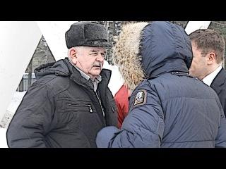 Пьянков оскорбил советника Жукова   Качканар