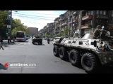 armtimes.com/ Ռազմական շքերթի փորձը Երեւանի կենտրոն&#1400