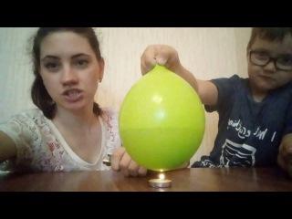 Делаем опыты c водой в шарике в домашних условиях!