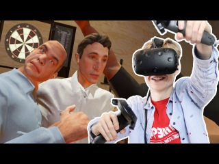 DRUNK BRAWLING SIMULATOR IN VIRTUAL REALITY | Drunkn Bar Fight VR (HTC Vive Gameplay)