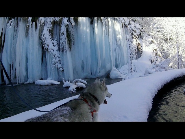 Outdoors Croatia S1E1 Plitvice winter run hike ✓ Croatia National Park HD
