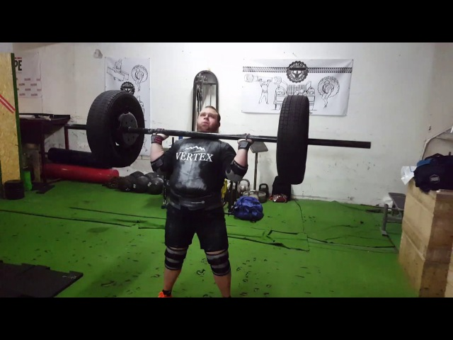 Axle 138 kg for 3 reps. Nikita Golovan » Freewka.com - Смотреть онлайн в хорощем качестве