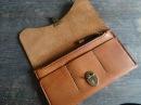 Работа с кожей. Кожаный кошелек своими руками. классический кошелек. Making leather wallet