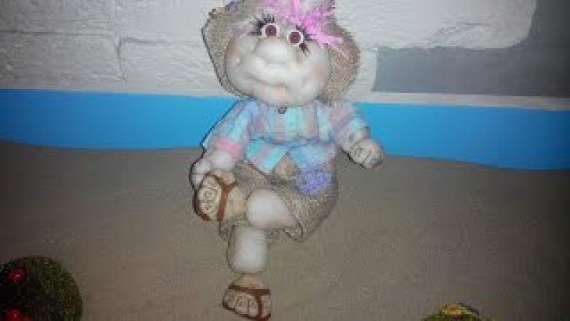 Мастер класс Реалистичные ножки для куклы из капрона