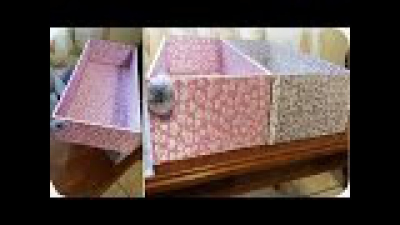 DIY | Cajas para Organizar tú Cuarto