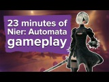 23 minutes of Nier: Automata gameplay