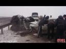 Авария, на трассе Саранск Ичалки ГАЗ 3110 vs ВАЗ 21093