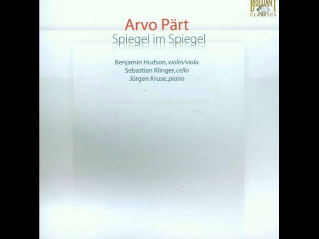 Arvo Pärt : Mozart's Adagio