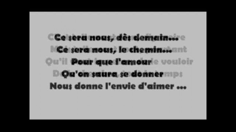 L'envie d'aimer-Daniel Levi avec paroles