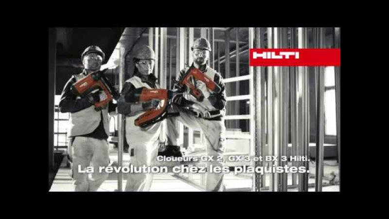 Hilti - Cloueurs GX 2, GX 3 BX 3-IF teaser