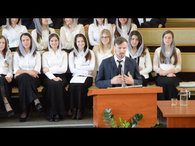 Проповідь Олег Хмуринський Пасха 2017 ЦХВЄ м Здолбунів