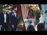 Марина и Саша  и их свадьба в цвете марсала