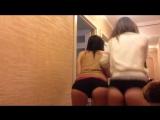 Подслушано Пошлая Москва #16 Две девушки смешно трясут попками