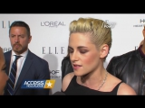 Access Hollywood - Kristen Stewart, Lupita Nyongo, Felicty Jones Elle WIH