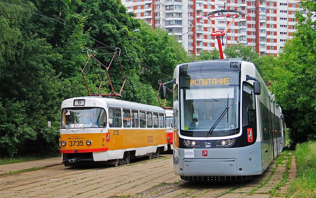 Трамвай №6 снова начнёт курсировать по Волоколамскому шоссе осенью