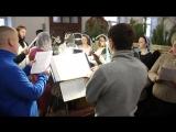 Французская колядка - Правый хор храма Преображения Господня (Астрахань)
