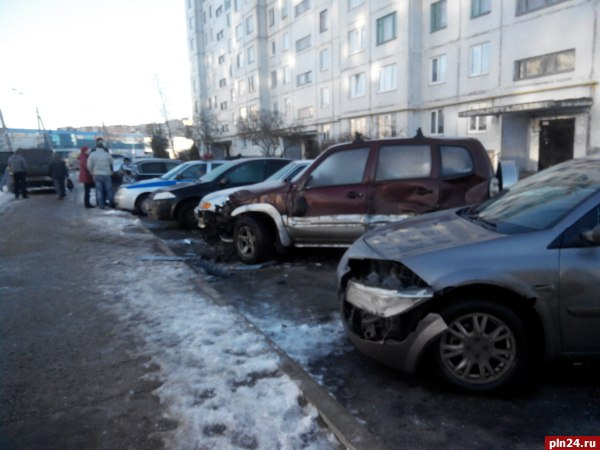 По предварительной информации, 20 января у дома 44 на улице Коммунальн