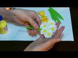 Творческие занятия с детьми - Открытка на 8 Марта (1)