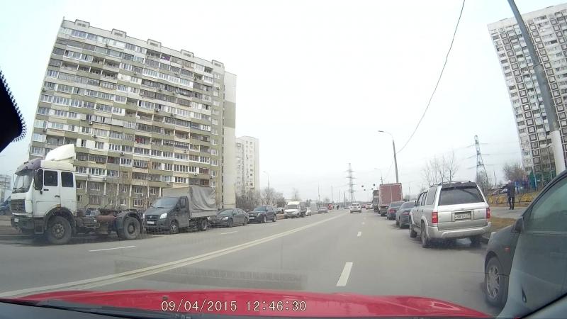 Ищем место для разворота до перекрестка №2 ул. старобитцевская