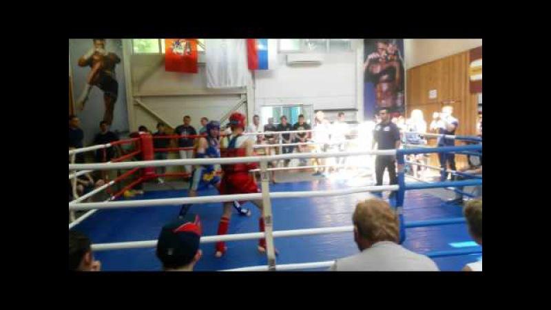 Изотов Нестор (красный угол) Тайский Бокс