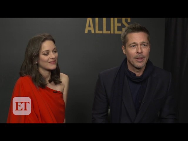 Watch Marion Cotillard Praise Brad Pitt's French Skills at the 'Allied' Premiere in Paris!