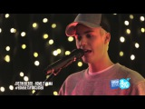Justin Bieber 'Home To Mama' intimate and acoustic for The Edge