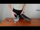 Как почистить замшевую обувь и как ухаживать за замшей
