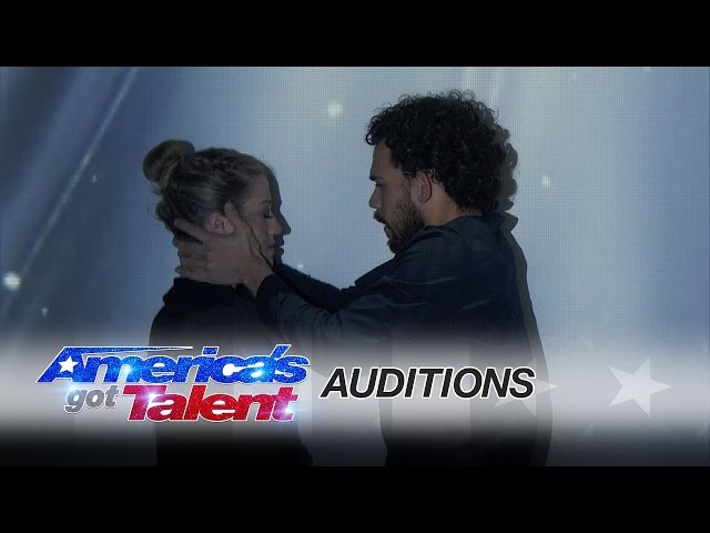 Sila Sveta: Multimedia Dance Performers Tell Stunning Story - America's Got Talent 2016 Auditions