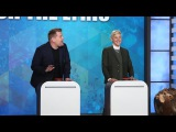 'Finish the Lyric' with Ellen, James Corden &amp Jesse Tyler Ferguson