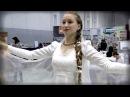 Танец Белая Лебедия под гусли - Ярослава Горячева и Кирилл Богомилов (Кантелеон)