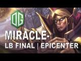 Miracle- Invoker OG vs Newbee Epicenter LB Final Dota 2