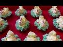 ВКУСНЫЙ рецепт НОВОГОДНЕЕ пирожное Песочные корзинки ЦЫПЛЯТА Украшение белково заварным кремом