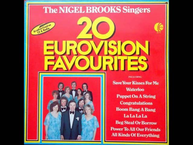 The Nigel Brooks Singers - Say Wonderful things Ring A Ding Girl