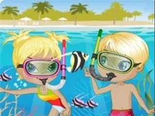 Secrets Underwater Of Beautiful Lovers Girls Games