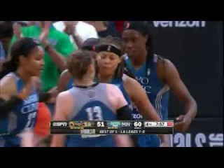 Lynx Even WNBA Finals with 79-60 Win Over Sparks