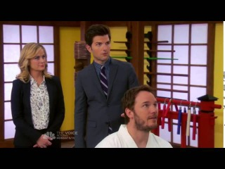 Parks and Recreation - Ben Wyatt gets knighted